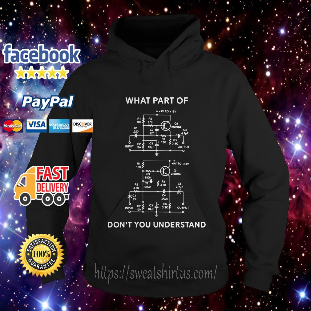 High-Low filter what part of don't you understand hoodie
