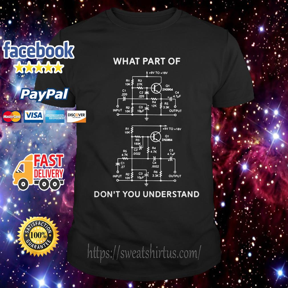 High-Low filter what part of don't you understand shirt