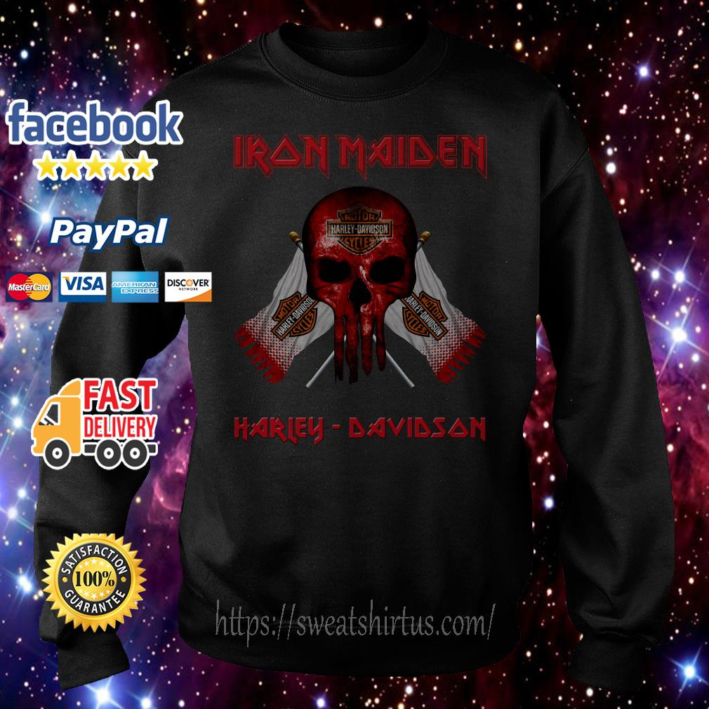 Iron Maiden motor Harley- Davidson cycles Sweater