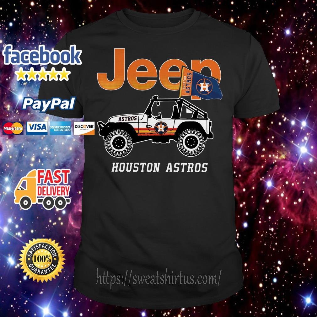 Jeep Houston Astros shirt