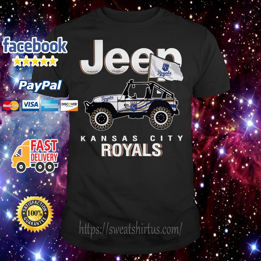 Jeep Kansas City Royals shirt