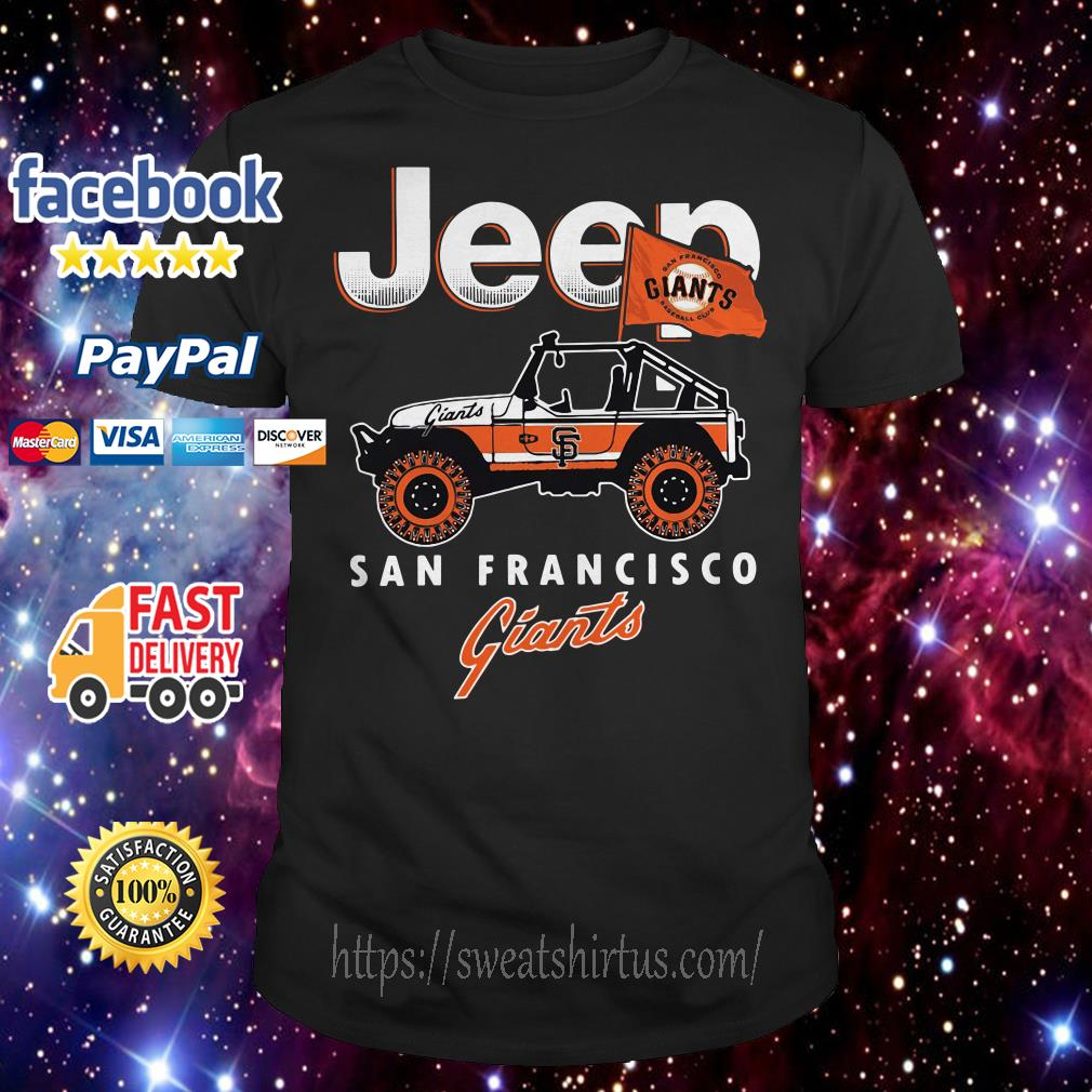 Jeep San Francisco Giants shirt