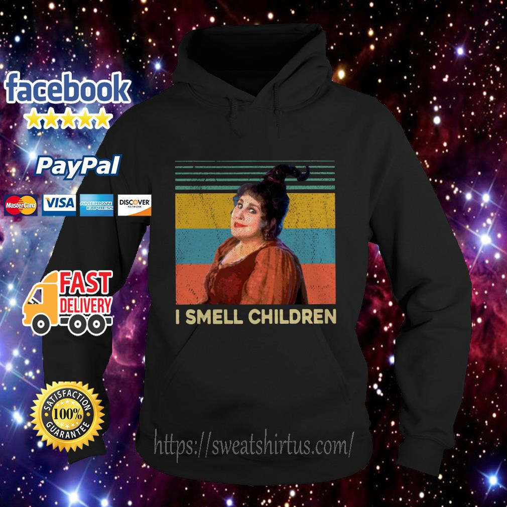 Mary Sanderson I smell children vintage Hoodie