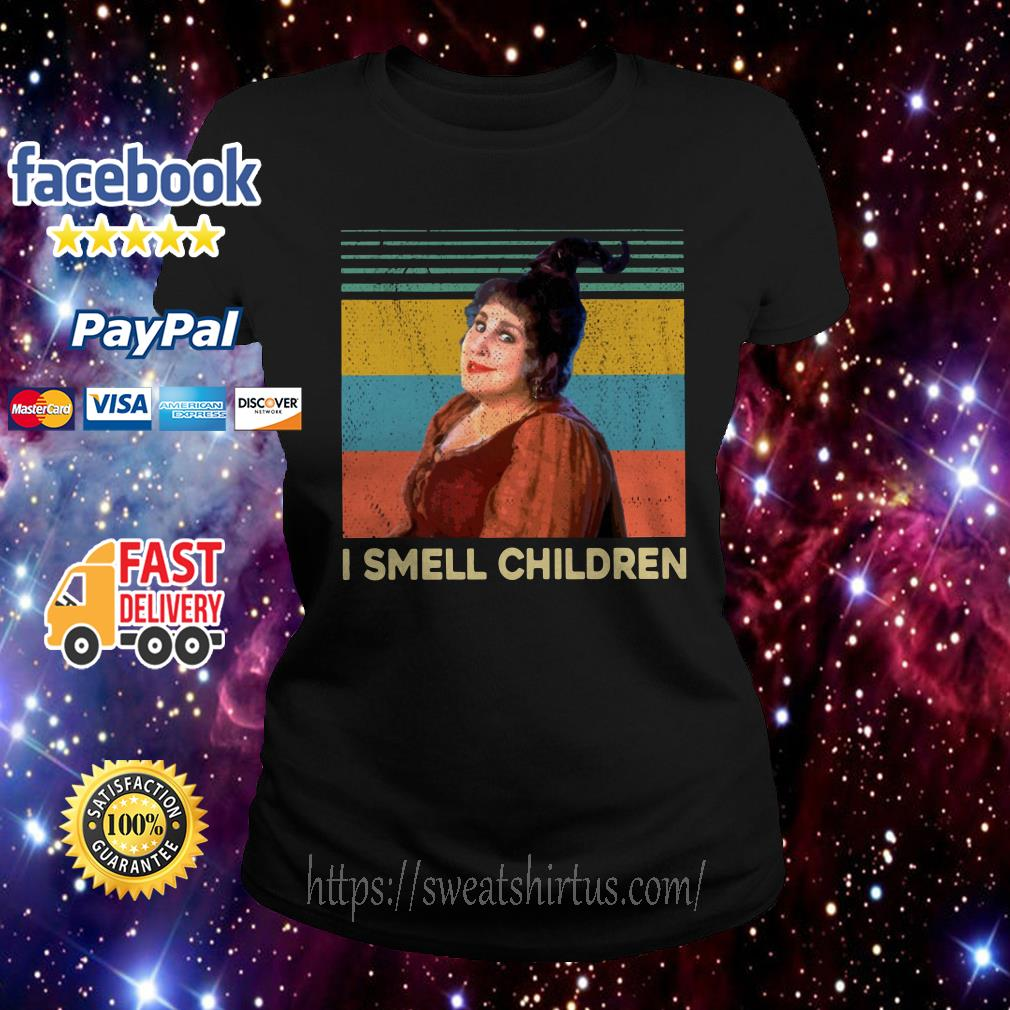 Mary Sanderson I smell children vintage Ladies Tee
