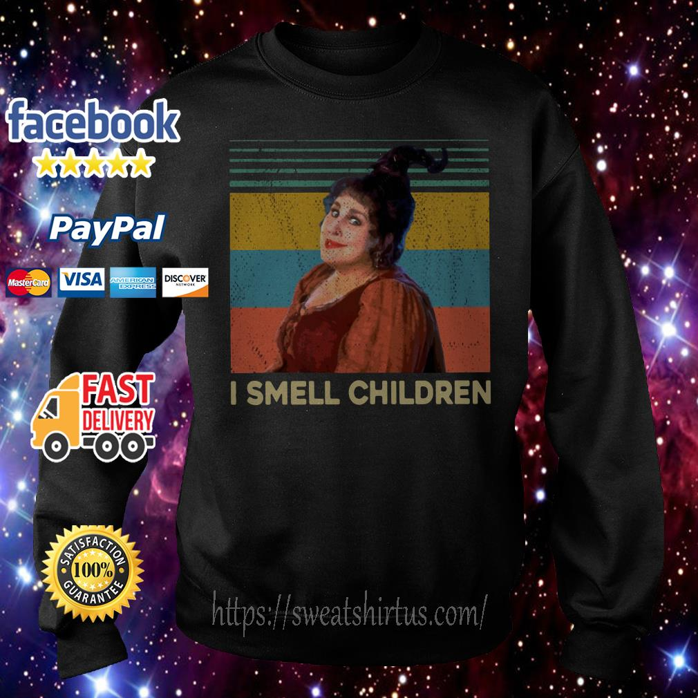 Mary Sanderson I smell children vintage Sweater