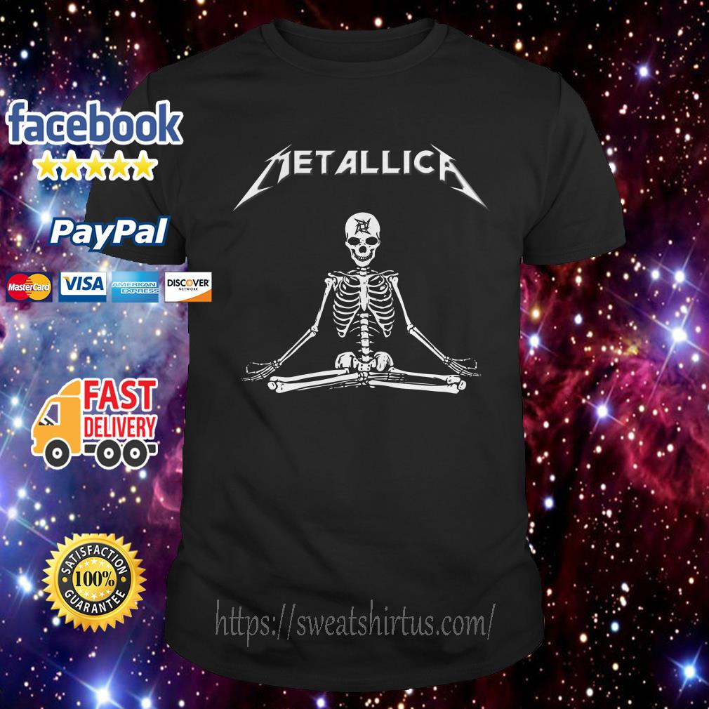 Metallica Skeleton Yoga shirt