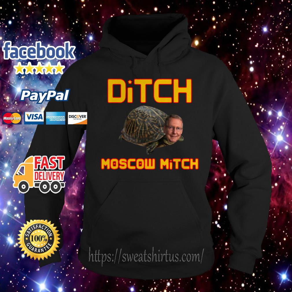 Mitch McConnell Ditch Moscow Mitch Hoodie