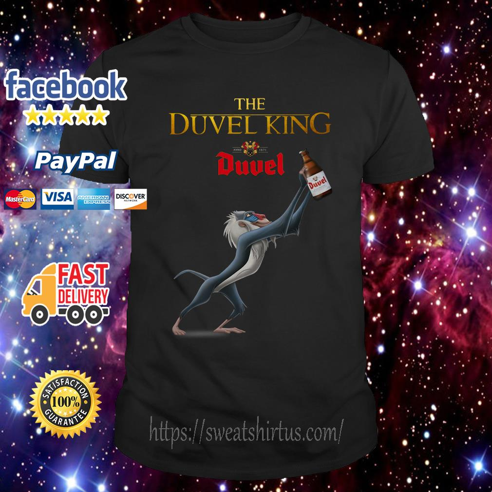 Rafiki The Duvel King Anno 1871 Duvel shirt