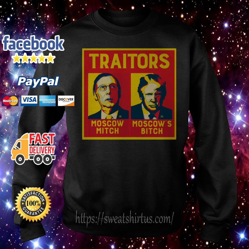 Traitors Moscow Mitch Moscow's Bitch Mitch and Trump Sweater