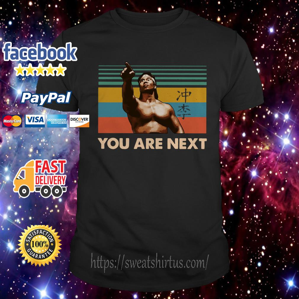 Vintage Blood Sport Chong Li you are next shirt