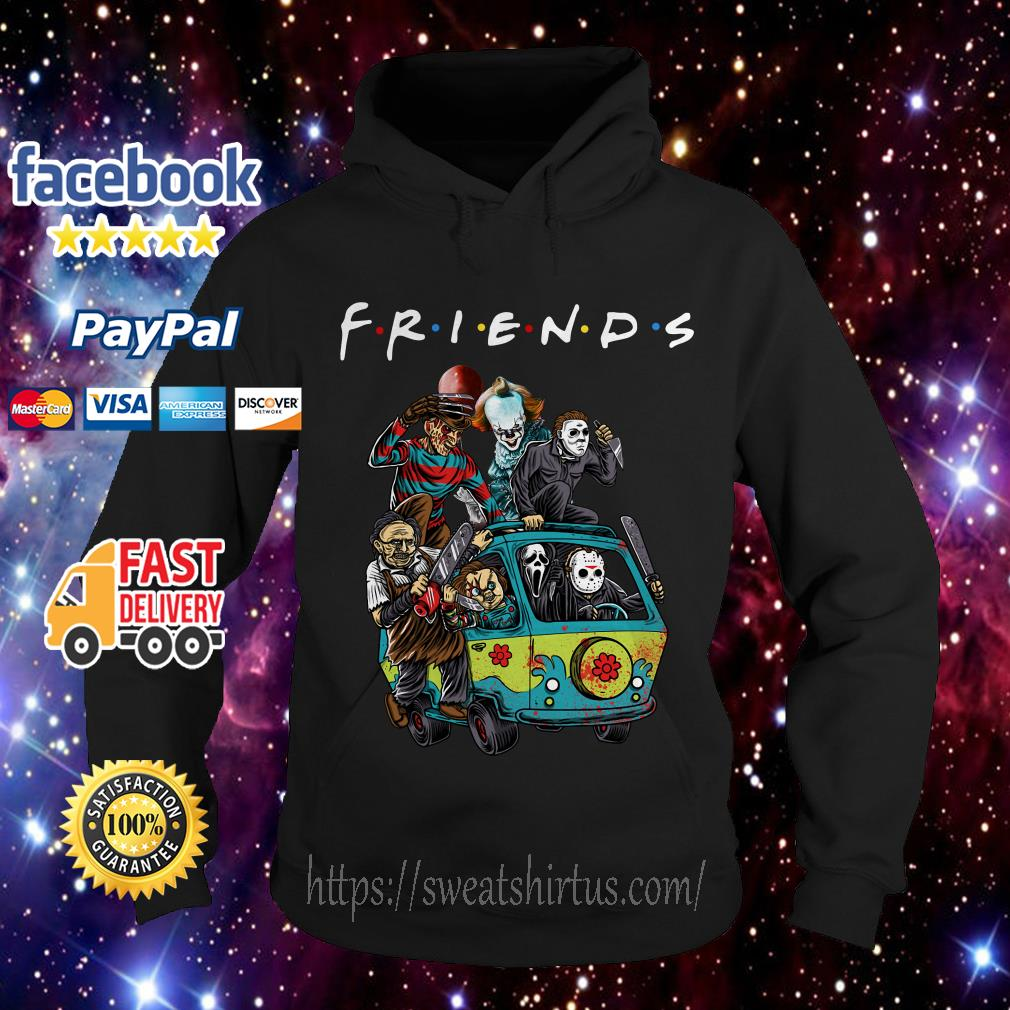 Car Horror characters movie Friends TV Show Hoodie