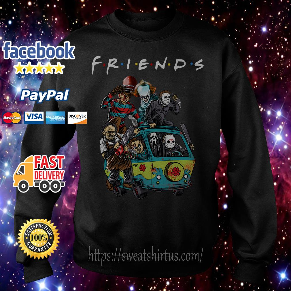 Car Horror characters movie Friends TV Show Sweater
