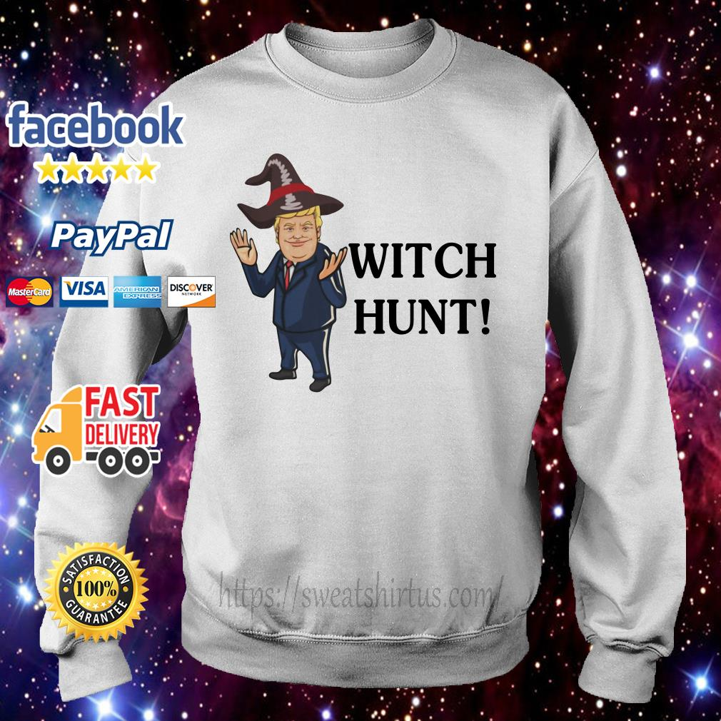 Donald Trump witch hunt Sweater