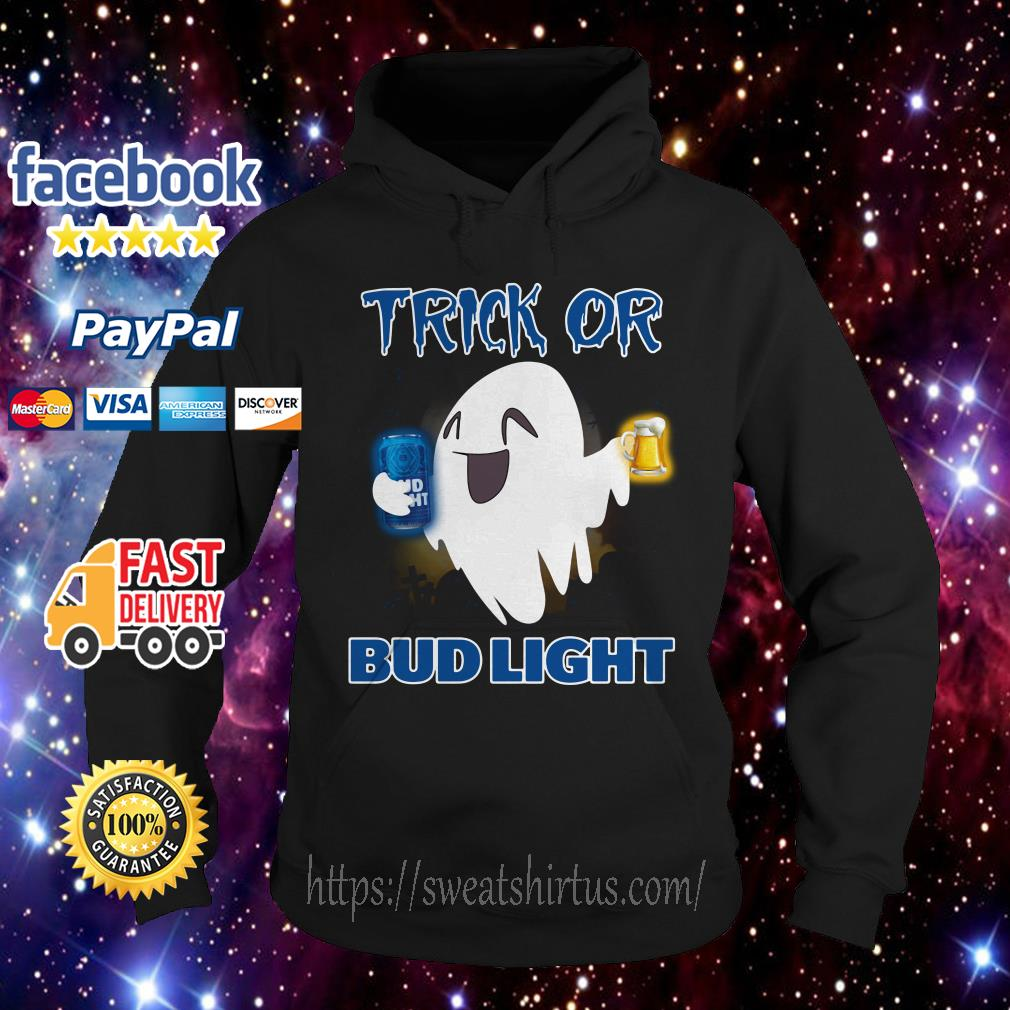 Ghost trick of Bud Light Halloween Hoodie