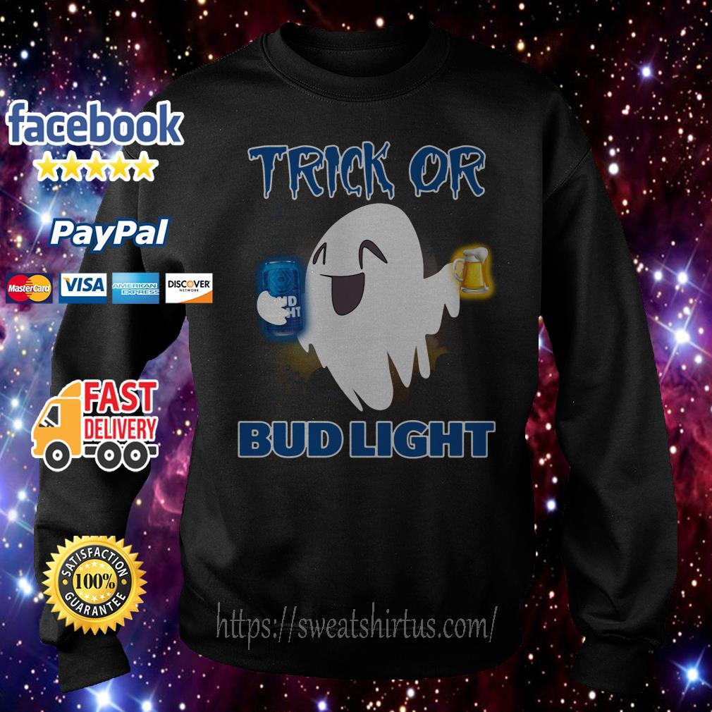 Ghost trick of Bud Light Halloween Sweater