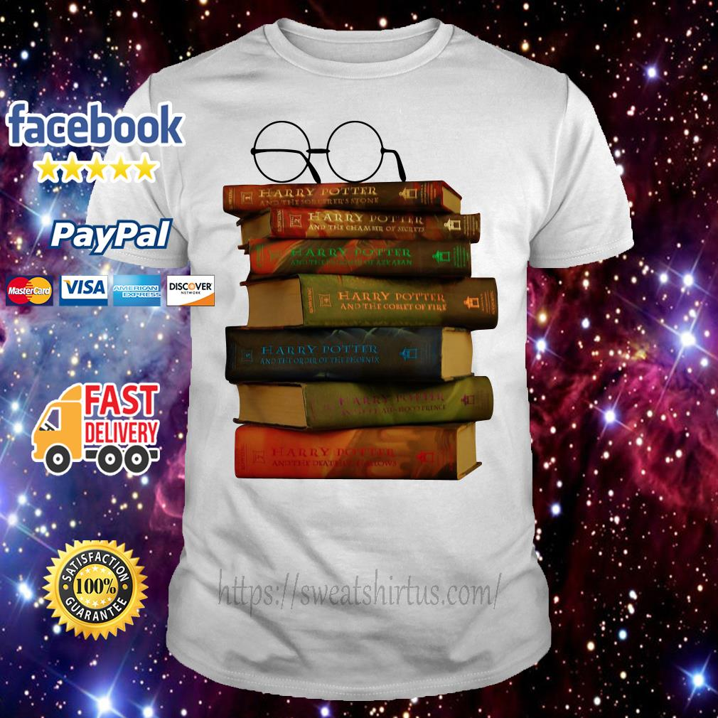 Harry Potter books shirt