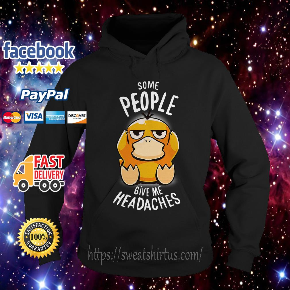 Koduck some people give me headaches Hoodie