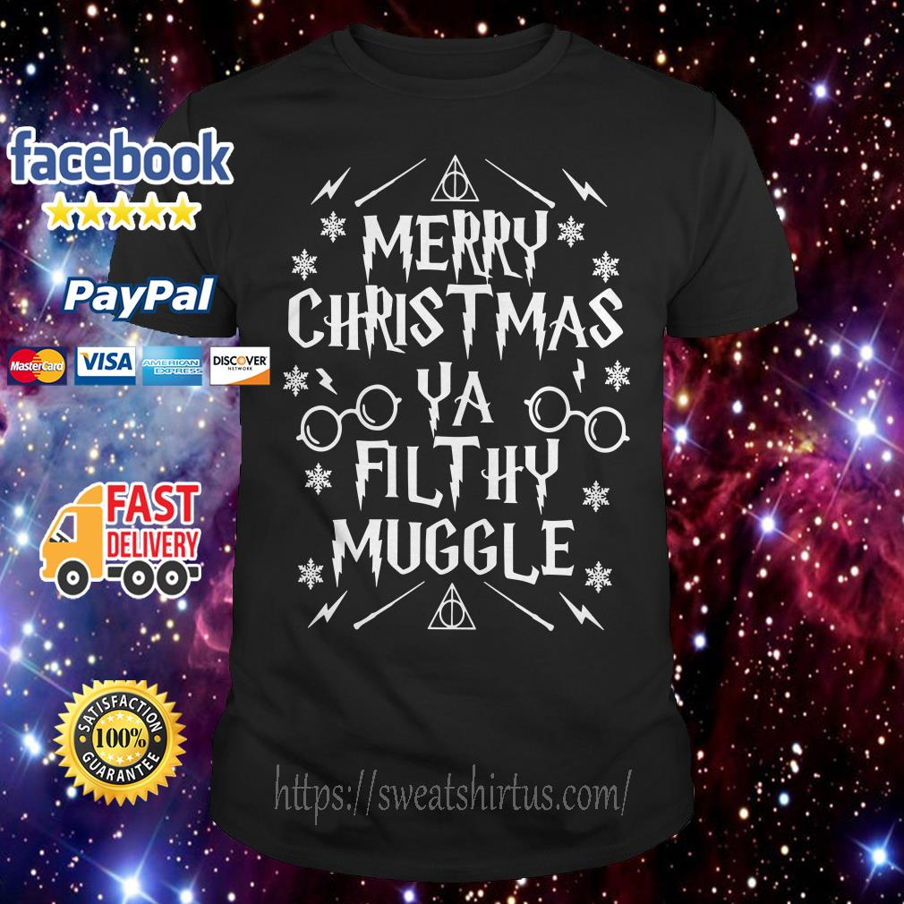 Merry Christmas Ya Filthy Muggle Harry Potter shirt