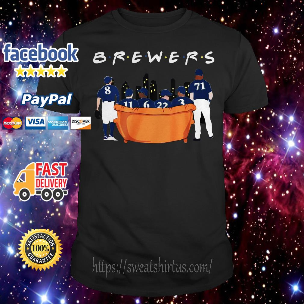 Milwaukee Brewers Friends TV Show shirt