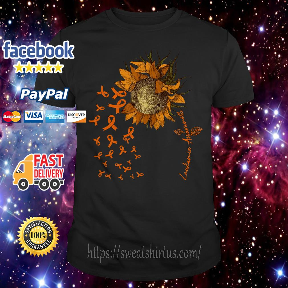 Sunflower Leukemia awareness shirt
