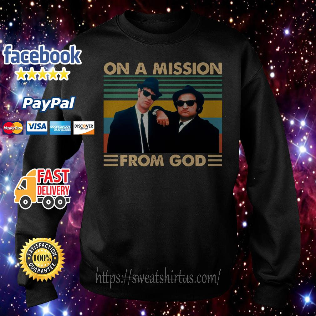 The Blues Brothers On a mission from god vintage Sweater