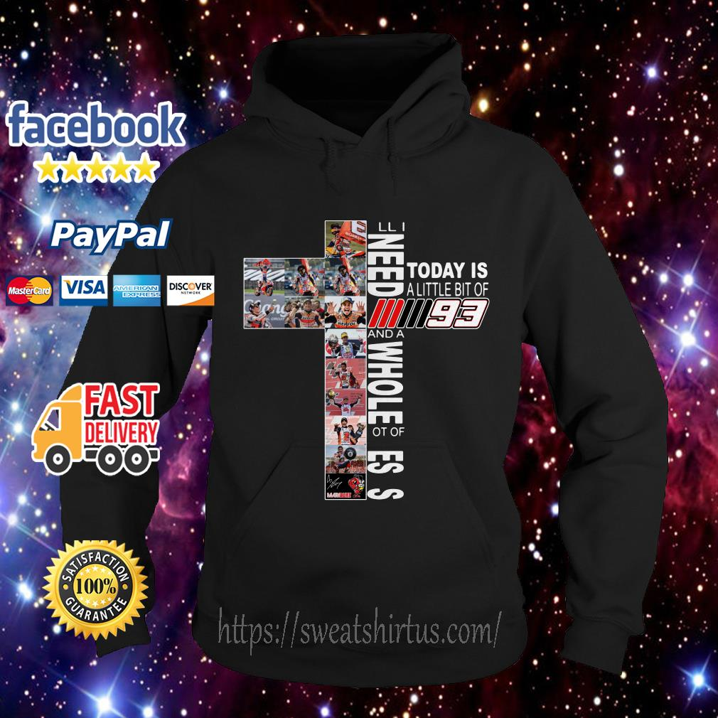 All I need today is a little bit of Marc Marquez MM93 and a whole lot of Jesus Hoodie