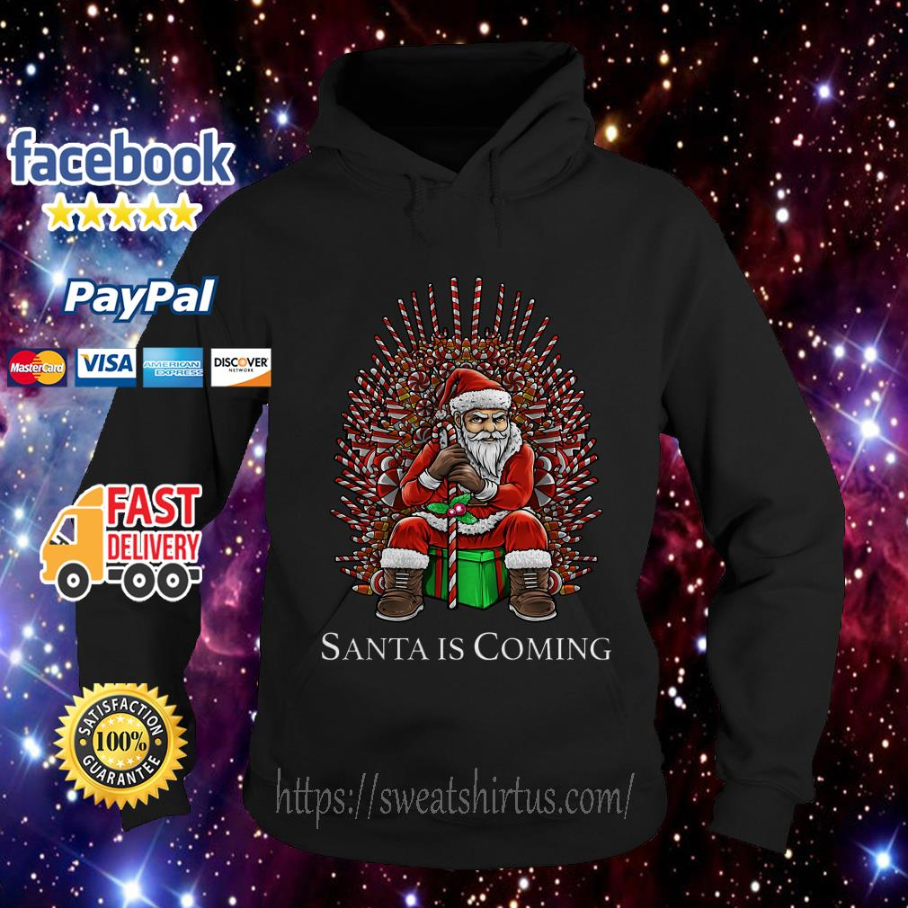 Game of Thrones Santa is coming Christmas Hoodie
