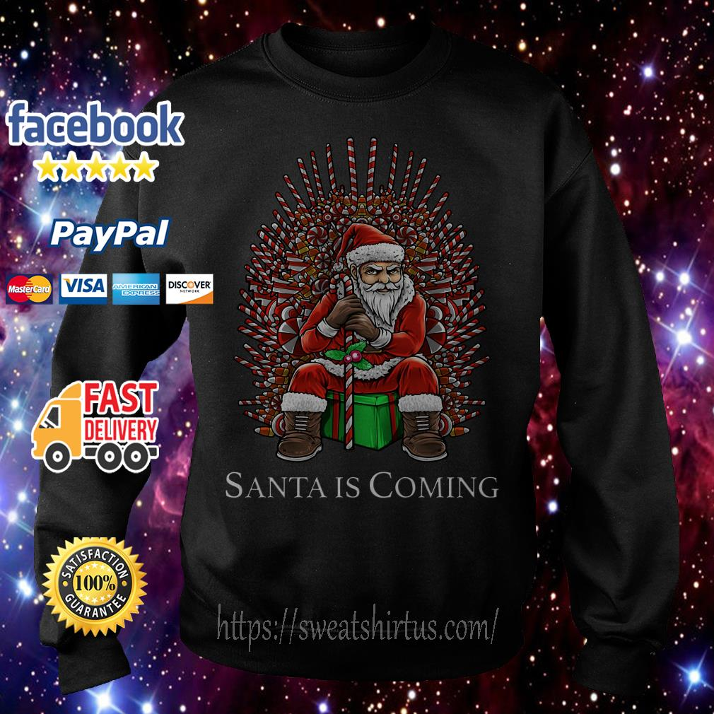 Game of Thrones Santa is coming Christmas Sweater
