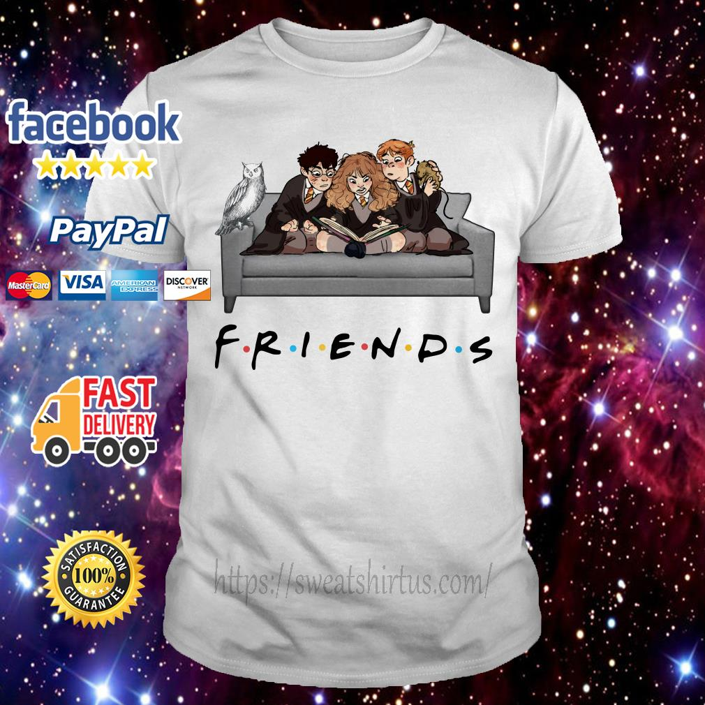 Harry Potter character Friends TV Show shirt