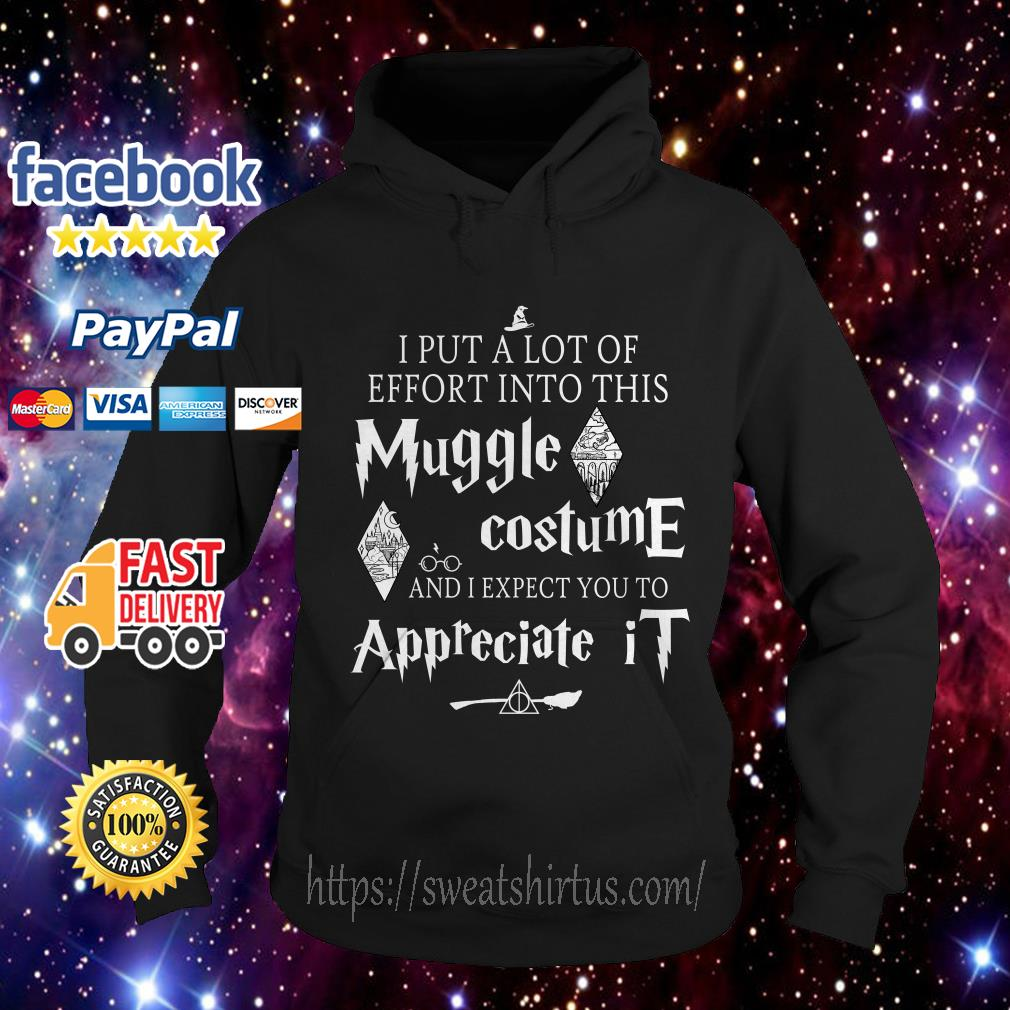 I put a lot of Effort into this Muggle costume and I expect you to Appreciate Harry Potter Hoodie