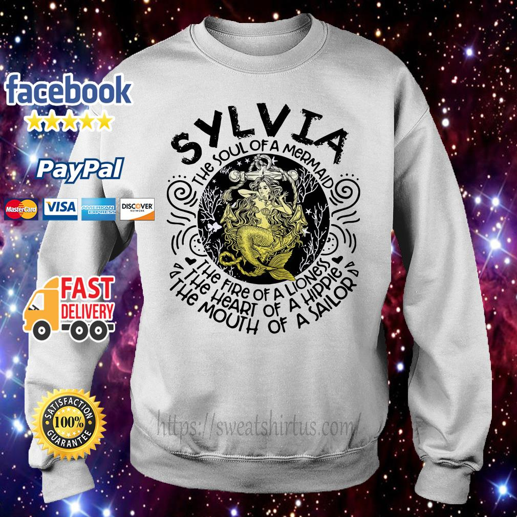 Sylvia girl the soul of a mermaid the fire of a lioness Sweater
