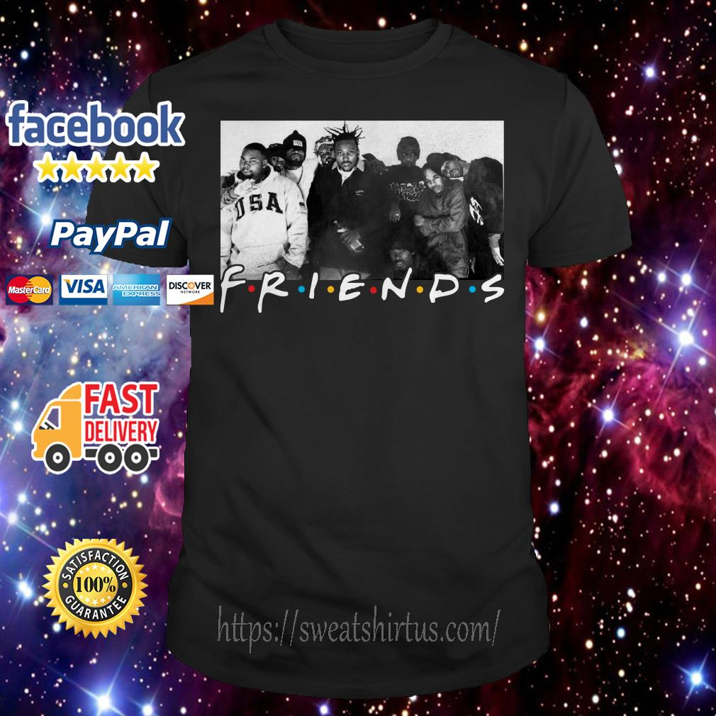 Wu-Tang Clan Friends TV show shirt