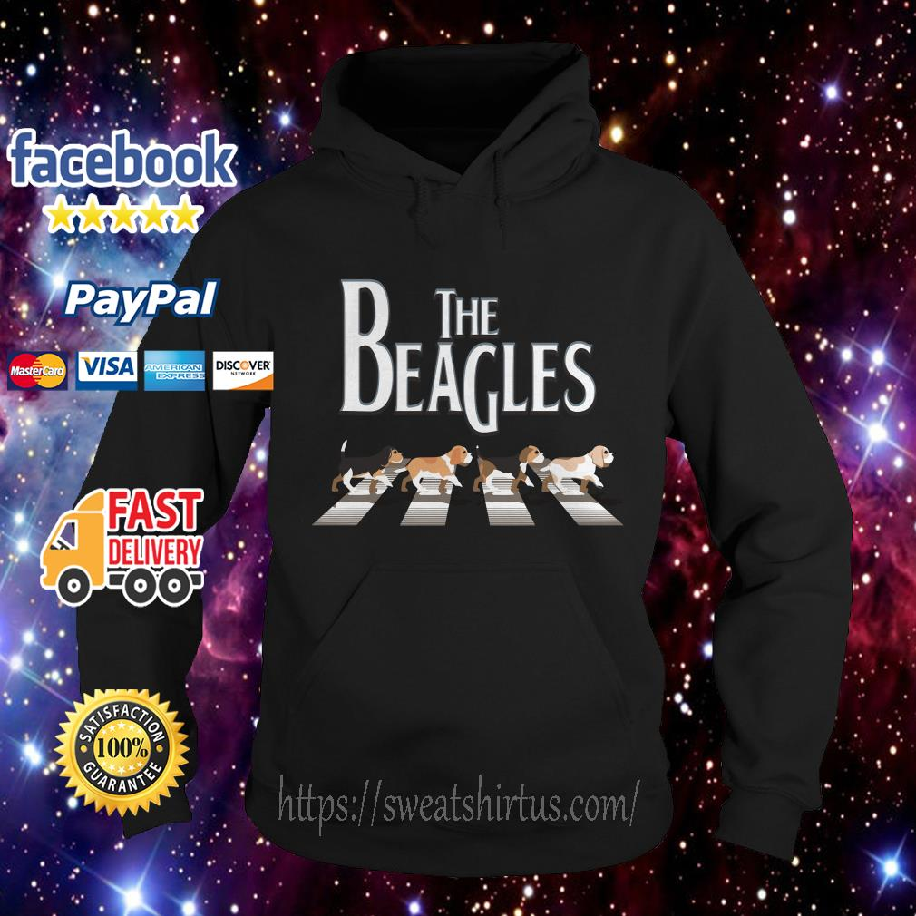 Abbey Road the Beagles Hoodie
