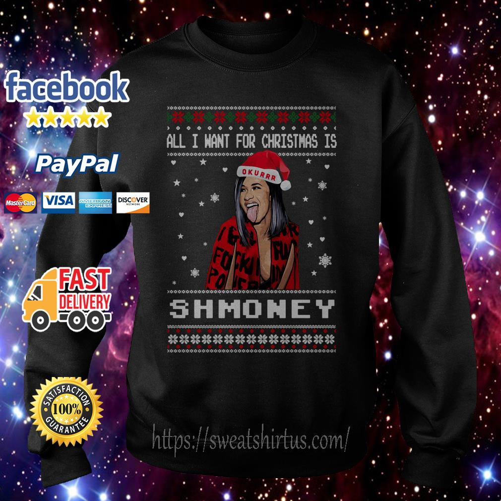 All I want for Christmas is Shmoney ugly sweat shirt