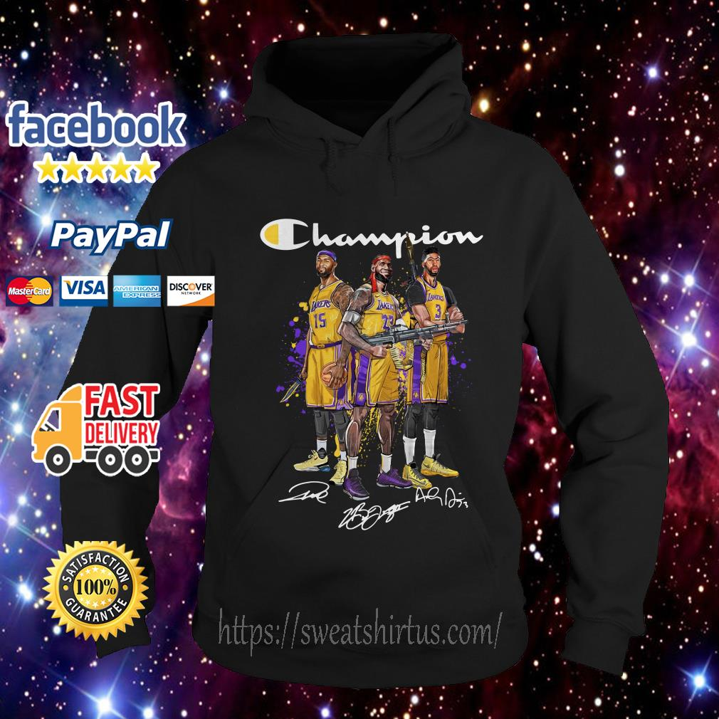 Angeles Lakers Champion signature Hoodie