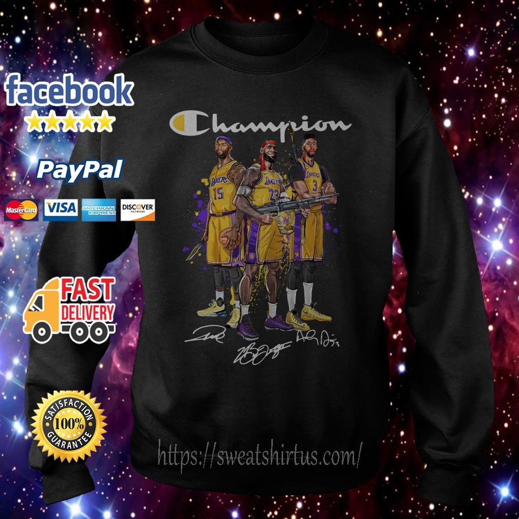 Angeles Lakers Champion signature Sweater