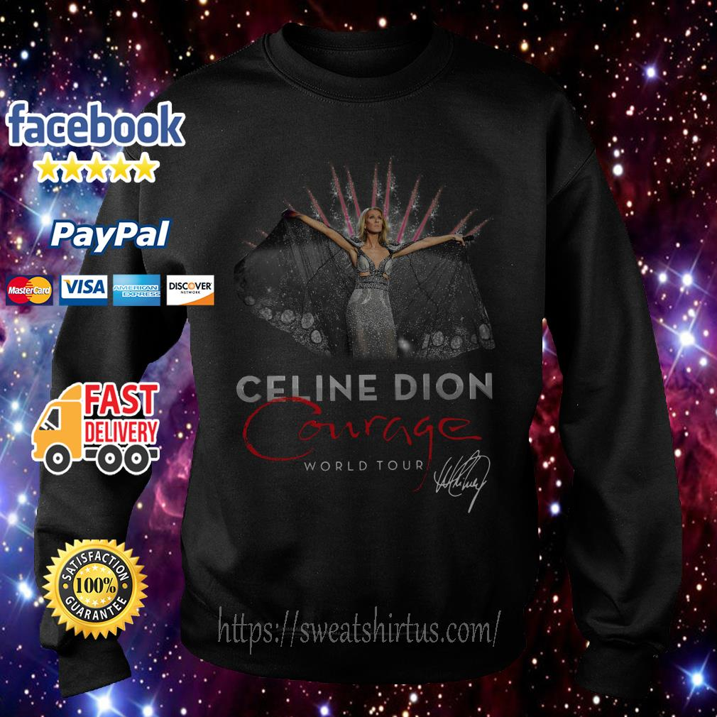 Celine Dion Courage World Tour signature Sweater