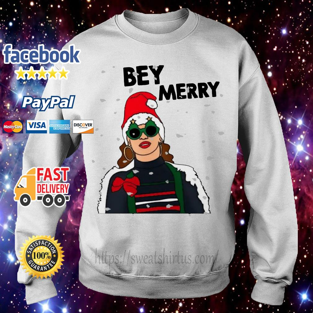 Christmas Beyonce Bey Merry shirt, sweater