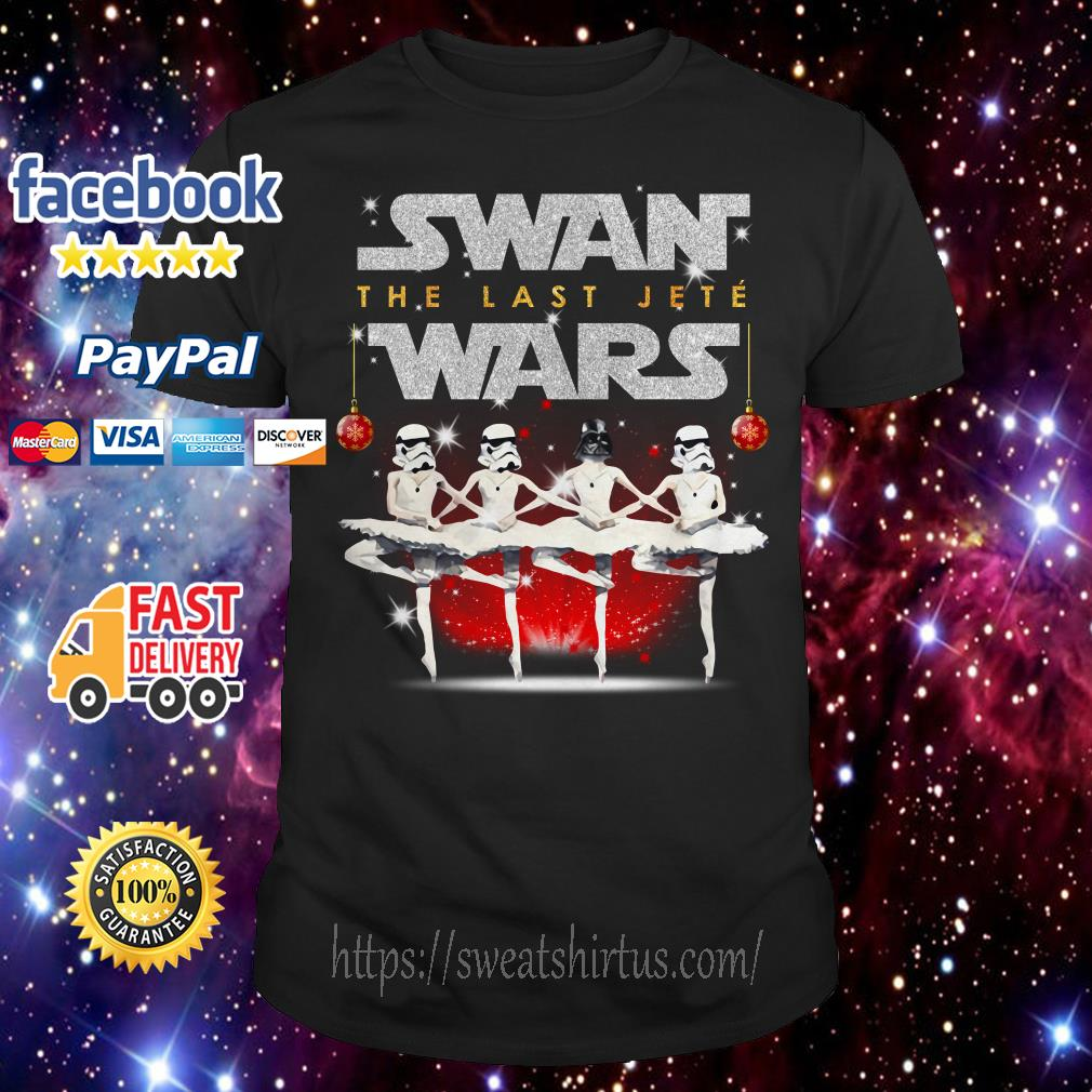 Darth Vader and Storm Pooper dancing Swan the last Jete Wars shirt