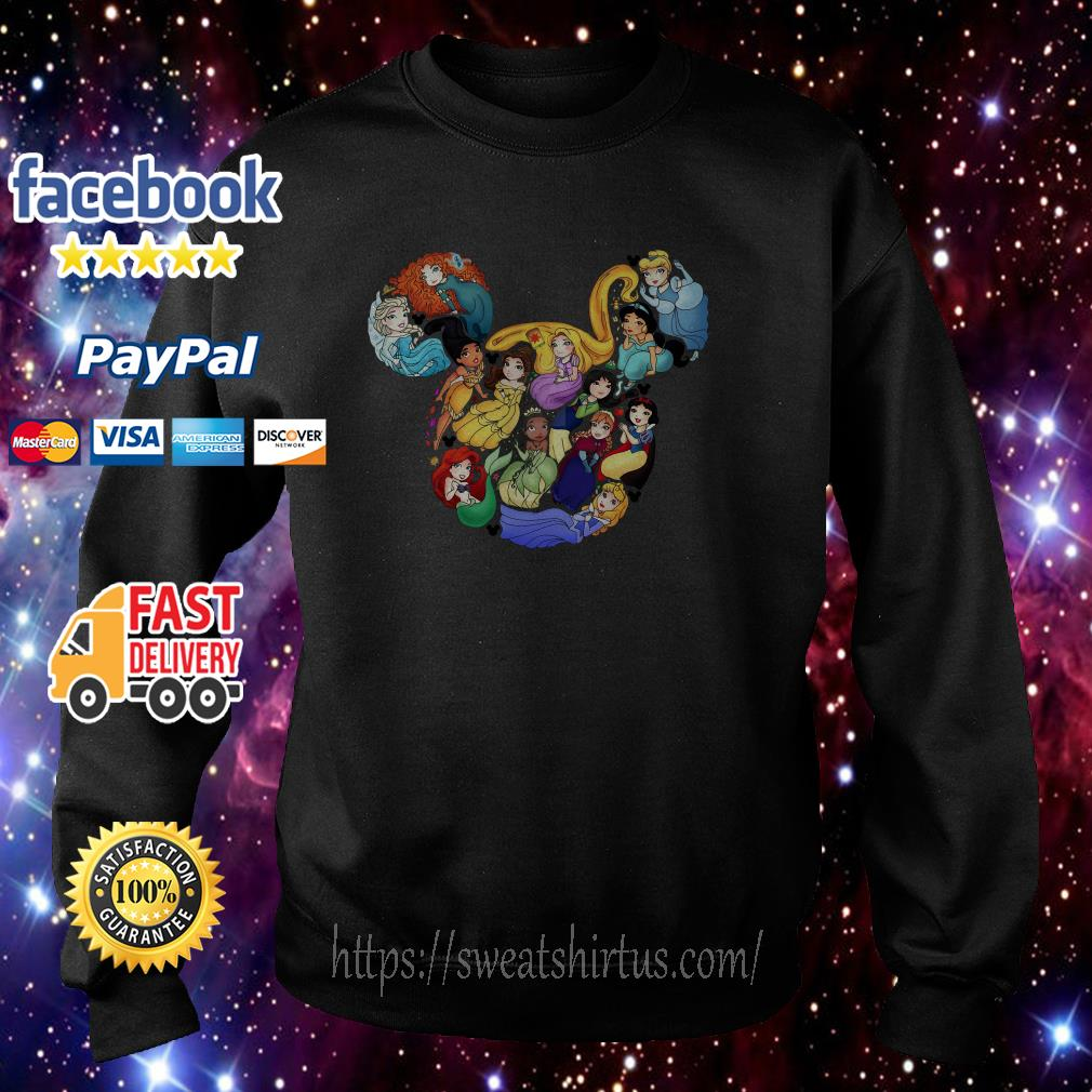 Disney Princess character Sweater