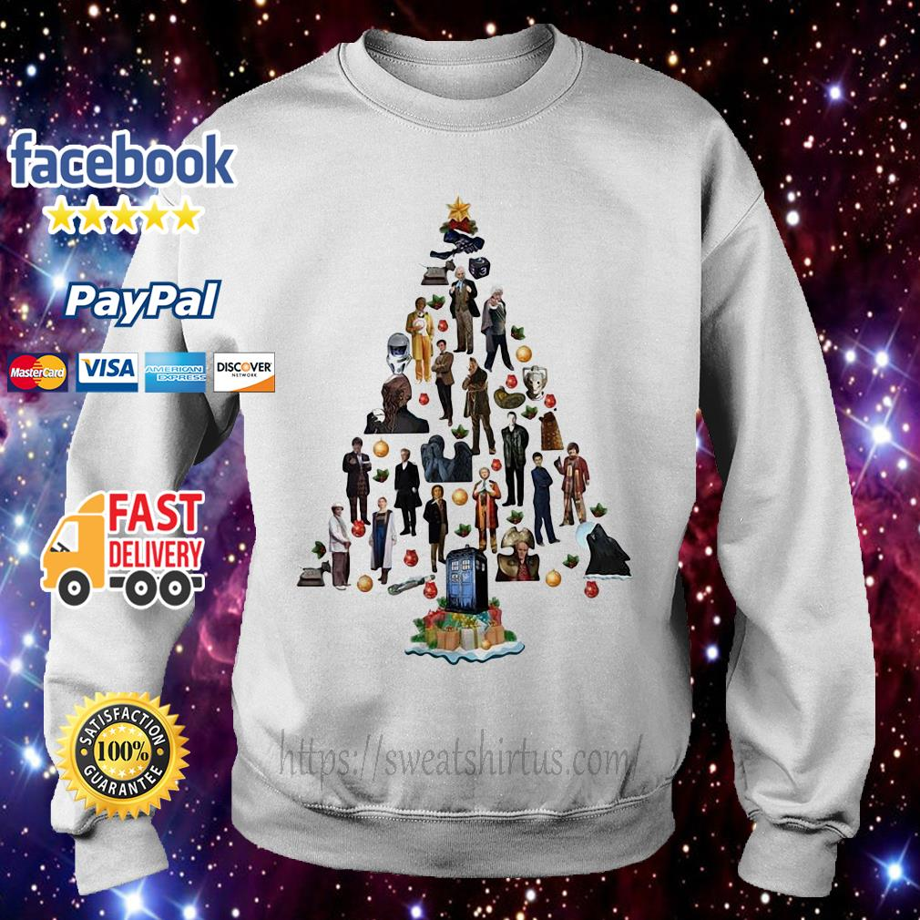 Doctor who Christmas tree shirt, sweater
