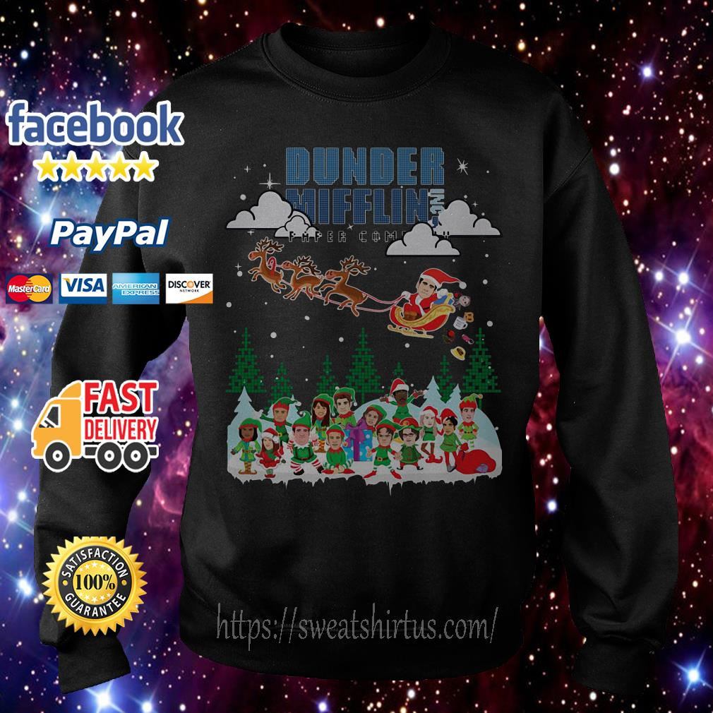 Dunder Mifflin Inc paper company Christmas shirt, sweater