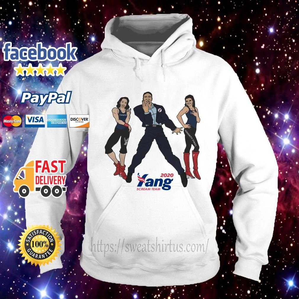 Endorse Andrew Yang Scream Team 2020 Hoodie