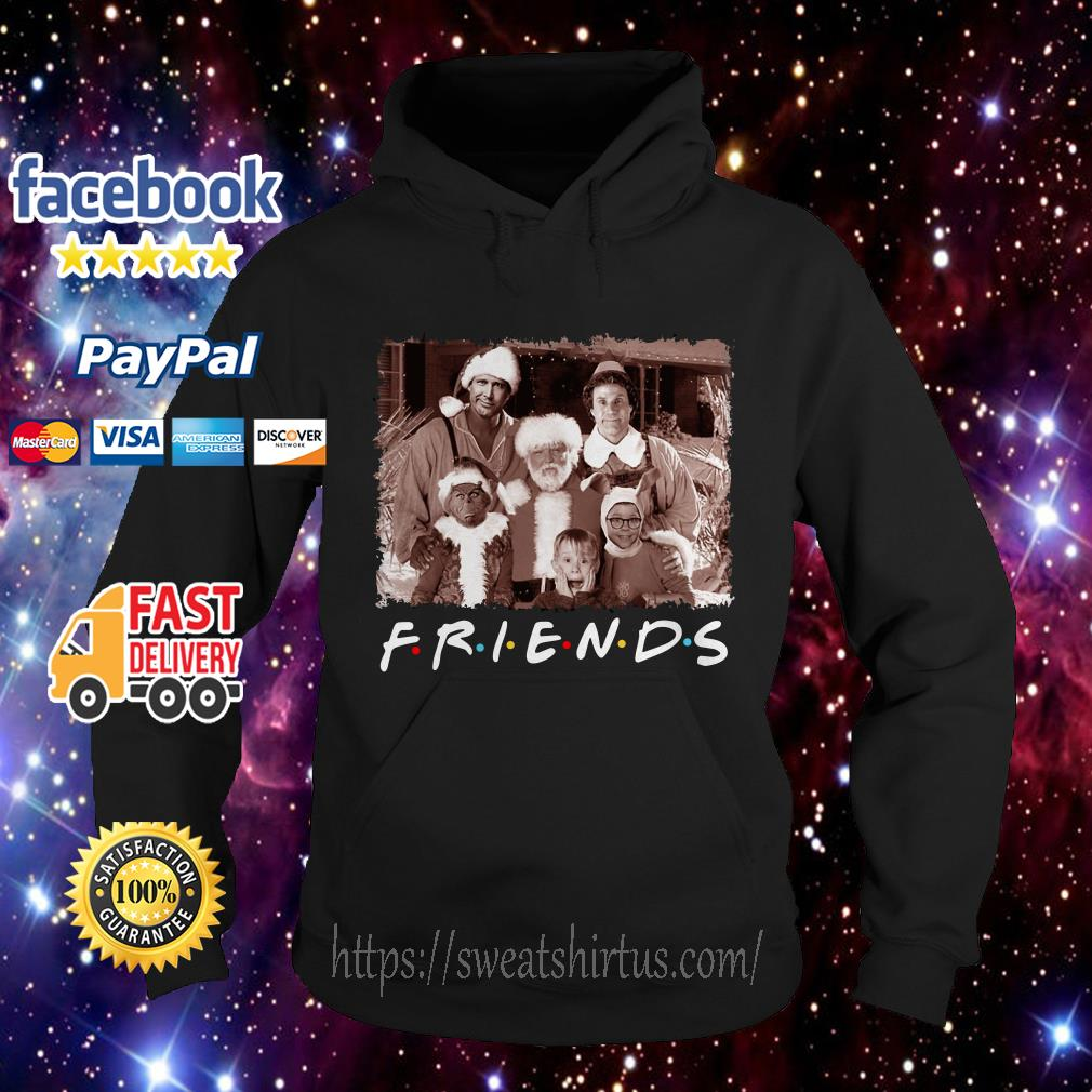 Friends Christmas holiday Grinch Elf Santa Clark Griswold Kevin Hoodie