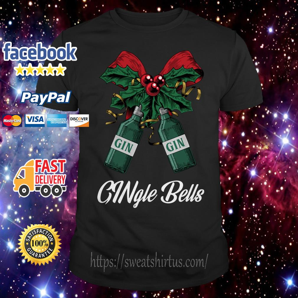 Gin Gingle Bells Christmas ugly sweat shirt
