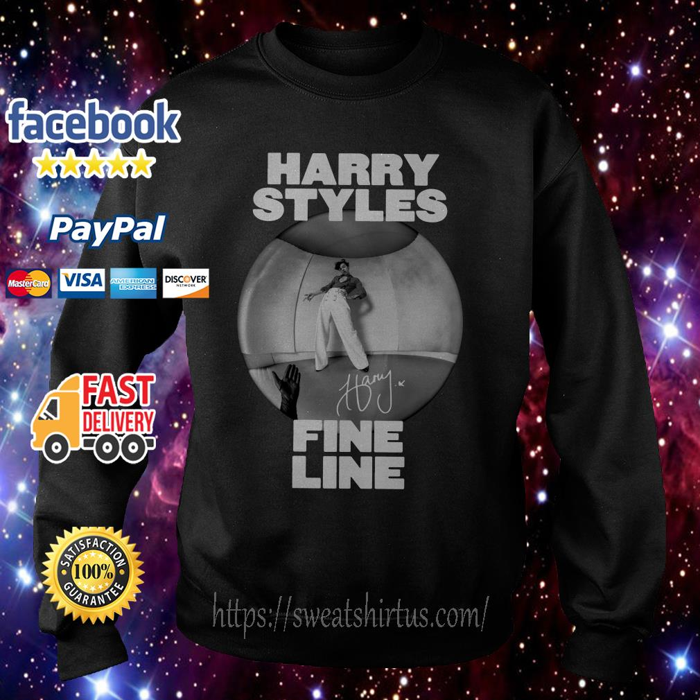 Harry Styles fine line album signature Sweater