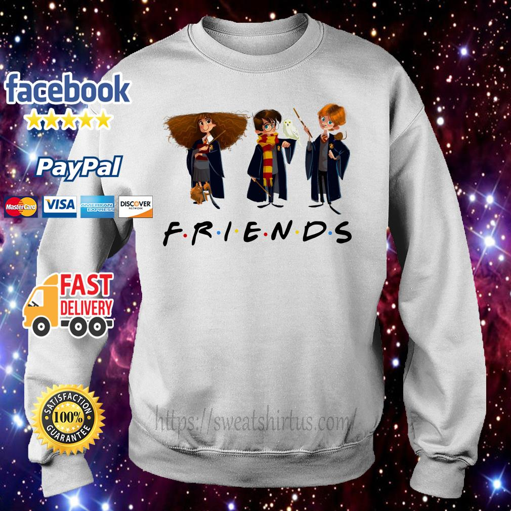 Hermione Granger Harry Potter and Ron Weasley Chibi Friends TV Show Sweater