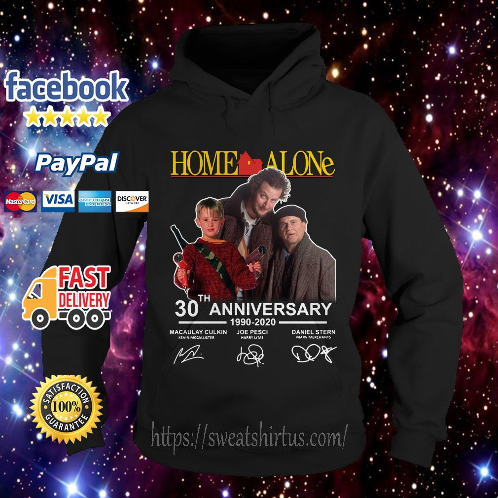 Home Alone 30th Anniversary 1990-2020 signatures Hoodie