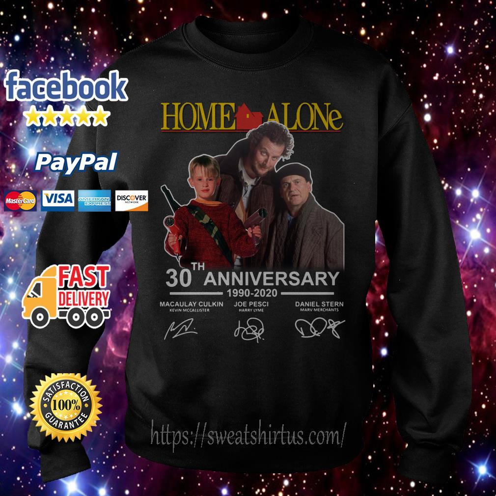 Home Alone 30th Anniversary 1990-2020 signatures Sweater