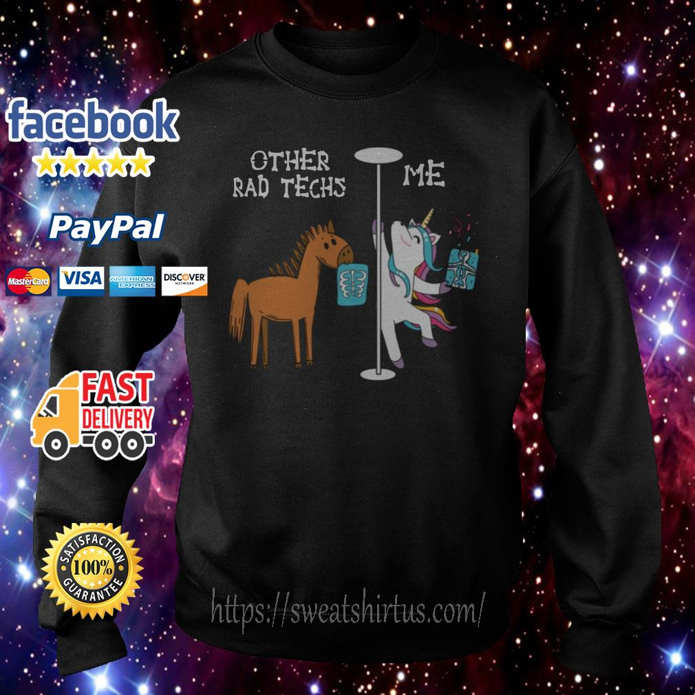 Horse and Unicorn Other rad techs and Me Sweater